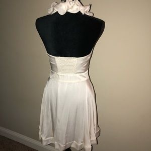 bebe Dresses - Bebe Ivory Dress